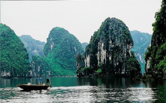 Vietnam Beaches Nature Halong Bay Vietnam Natural