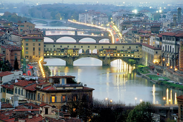 Italian Florence: City Of Florence And Pisa With All The Wonder