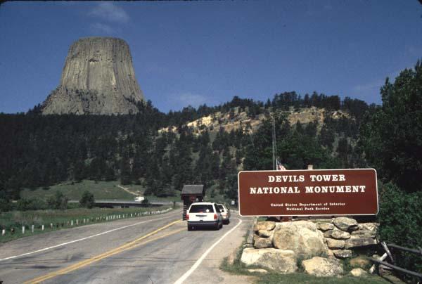wyoming-devil tower